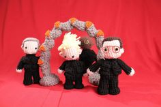 Pattern for Stargate SG1 Amigurumi Minis. $8.00, via Etsy.