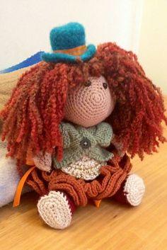 Ravelry: Kambo's Doll Made using Doll Princess Crochet Pattern by Pertseva for LittleOwlsHut. #LittleOwlsHut, #Amigurumi, #Pertseva, #CrochetPattern