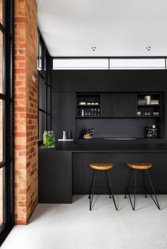 Kitchen Inspirations, Style some suggestions for kitchens, kitchen layout, farmhouse kitchen Designations, dining room Contemporary Kitchen Interior, Industrial Interior Design, Modern Kitchen Design, Interior Design Kitchen, Contemporary Decor, Minimal Kitchen, Kitchen Designs, Kitchen Ideas, Kitchen Inspiration