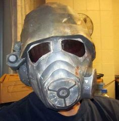 Fallout New Vegas NCR Ranger Helmet Papercraft