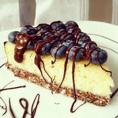 Ciasto kokosowe z kaszy manny na owsianym spodzie - bez pieczenia - PolandGetFit Sweet Recipes, Cake Recipes, My Favorite Food, Favorite Recipes, My Dessert, Polish Recipes, Something Sweet, Healthy Treats, Food And Drink