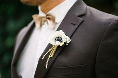 Black and gold wedding theme Foto: Katharina Sparwasser Eine schwarz weiß goldene Inspiration für eine Hochzeit | Friedatheres.com