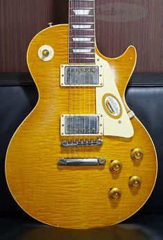 Gibson Custom Shop True Historic 1959 Les Paul Reissue Murphy Aged Double Dirty Lemon 【SN.9 6634】