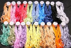 NEW 50M 100/% PURE SILK 4MM EMBROIDERY RIBBON RED SHADES