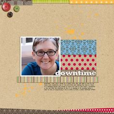 Downtime by Celeste Smith (Hybrid) White Space, Scrapbooking Layouts, Big Kids, Blossoms, My Favorite Things, Soup, Felt, Craft Ideas, Buttons