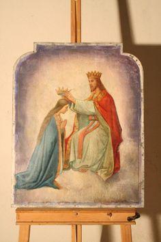 Coroação de Nossa Senhora - Altar de Lourdes Basílica Menor de Santo Antônio do Embaré