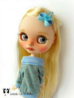 "Ooak custom Blythe doll ""Aurora"""