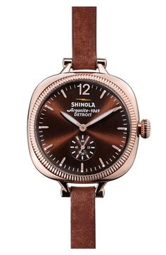 Shinola - for the minimalist and sophisticated