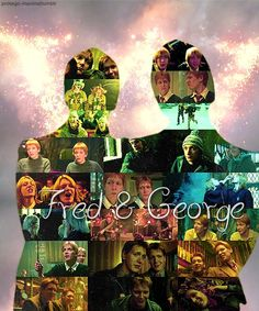 Fred and George best characters EVER