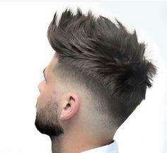Stunning Haircuts for Men - Vincisjournal Cool Hairstyles For Men, Hairstyles Haircuts, Haircuts For Men, Mens Hairstyles Fade, Pelo Hipster, Short Hair Cuts, Short Hair Styles, Gents Hair Style, Style Hair