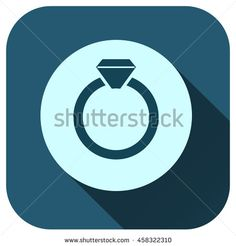 Wedding rings icon vector logo for your design, symbol, application, website, UI.