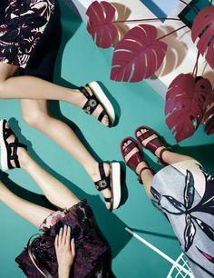 Summer asks for sandals.... Lots of them! #eleh #eleh1840 #SS16
