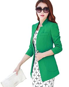 My Wonderful World Women's Boyfriend OL 1 Button Suit Small Green My Wonderful World Blazer Coat Jacket http://www.amazon.com/dp/B015XPFUNI/ref=cm_sw_r_pi_dp_l73cwb0CPZEXH
