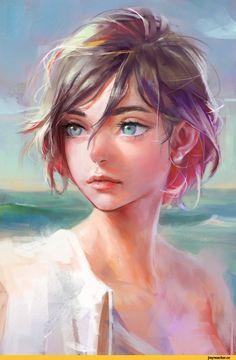 Nababa,artist,арт девушка,красивые картинки