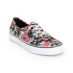 7dd1229c8b Vans Authentic Floral Print Shoes Floral Vans