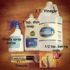 DIY All-Purpose Cleaner   I made this tonight and cleaned the bathroom. Everything sparkles. I usually use 7th Generation brand but it has never cleaned the way this does. Never buying cleaner again!  -Michelle