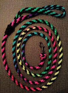 Dog leash paracord