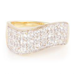 Bague pour femme sertie de Topazes blanches - Bijoux en argent - Juwelo  Bijouterie en Ligne 8355e41f41ab