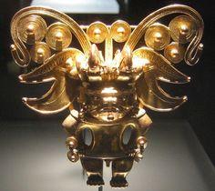 Tairona Pendant by  Unknown Artist Museo de Oro Bogota Colombia
