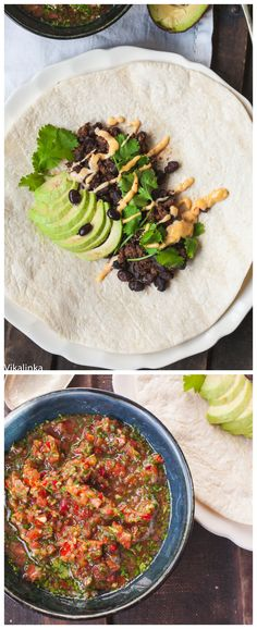 Delicious chipotle beef and black bean burritos ready in no time, no artificial taco seasoning, all natural and tasty ingredients!