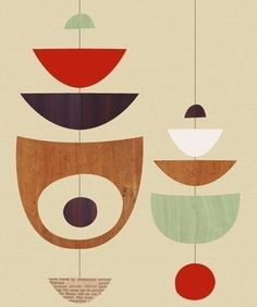 Image result for mid century shapes
