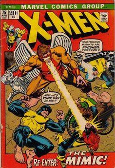 X-Men #75. The Mimic.  #XMen  Auction your comics on www.comicbazaar.co.uk