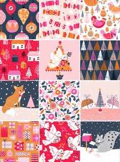 Christmas Time Is Here, Christmas Mood, Christmas Design, Kids Christmas, Storyboard, Kids Graphic Design, Christmas Illustration, Layout, Vintage Greeting Cards