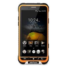 Ulefone Armor Smartphone IP68 Gorilla Glass 3 Android 6.0 Octa Core CPU 3GB RAM 13MP Cam Orange
