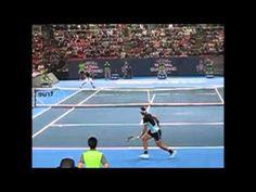 Djokovic Returns Nadal's Serve--When does He Move