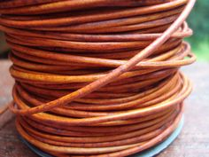 Hey, I found this really awesome Etsy listing at https://www.etsy.com/listing/180578483/orange-leather-cord-15mm-naturally-dyed