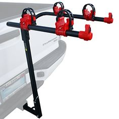 2 Bike Car Rack by KING with 1.25 and 2 Hitch Mount  Bicycle Carrier Sport Accessories Cargo Part Honda Civic Accord CRV Ford Toyota Corolla Grand Cherokee Nissan Subaru Kia Dodge Mazda SUV Trunk