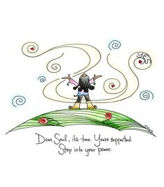 Yes. :: Step Into Your Power pring by TrustTending on Etsy