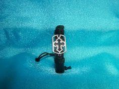 Christian Cross Leather Bracelet