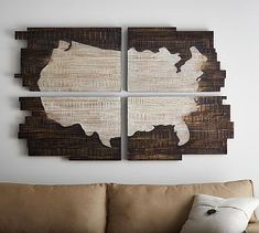 Shop planked wall art from Pottery Barn. Our furniture, home decor and accessories collections feature planked wall art in quality materials and classic styles. Big Wall Mirrors, Black Wall Mirror, Rustic Wall Mirrors, Mirror Art, Framed Wall, Wood Plank Art, Wood Plank Walls, Wood Wall Art, Wood Planks