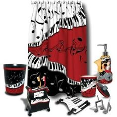 Music Bathroom Accessories