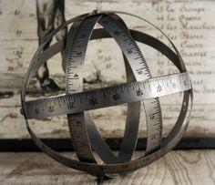 Measuring Tape Decorative Ball 8in