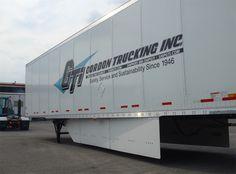 Trailer undercarriage aerodynamic panels