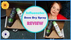 REVIEW Influenster Dove Dry Spray #TryDry #Target/Sarahjane Baxter