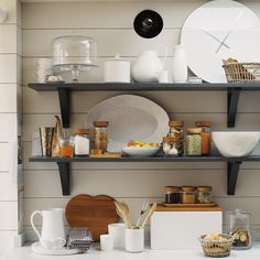 Accessorise your dining room table and serve dinner in style by discovering The White Company's collection of high quality tableware. Dining Room Table, A Table, Italian Bistro, Cafe Bistro, The White Company, Black Kitchens, Kitchen Shelves, Home Accessories, Sweet Home