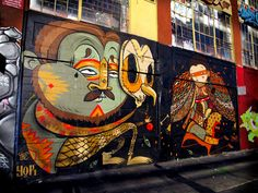 STREET ART UTOPIA » We declare the world as our canvas » 71 BiG Walls – A Street Art Collection