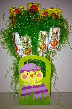 Easter Crafts with HERSHEY'S Chocolates and Giveaway