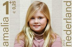 Prince Willem-Alexander (Willem-Alexander Claus George Ferdinand) (1967-living2013) Prince of Orange, Netherlands heir, has taken photos of his daughter (Catharina-Amalia Beatrix Carmen Victoria) (2003-living2013)  Netherlands for 2012 Stamps.