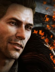 My original plan: Get my elven rogue with Blackwall or Solas. Now: Um...Cullen is a beautiful man...