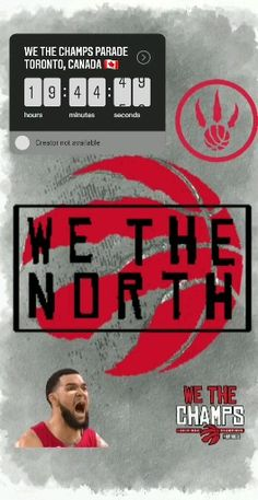 """It's official. Mayor John Tory announced June will Officially now be recognized as """"We The North"""" day. John Tory, Toronto Raptors, Toronto Canada, Highlights, This Is Us, June, Day, Instagram, Highlight"""