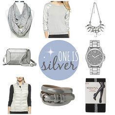 ON TREND: ONE IS SILVER | Style On Target | silver and gray items from Target