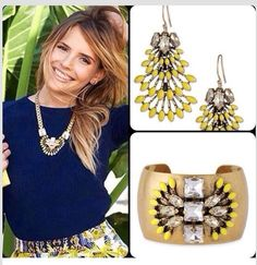 Love this set from Stella and Dot Spring 2014.  Check this out at www.stelladot.com/junemaureen26
