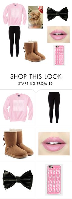 """""""1-800-HOTLINEBLING"""" by arden-fincher on Polyvore featuring UGG Australia, Fiebiger and Casetify"""