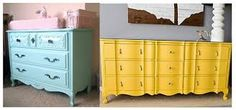Image result for refurbished dressers