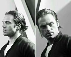 Sebastian Stan| ugh guys hes doing the thing with his hair , the freaking man bun omfg im in loveeeeeeee