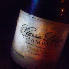 Pierre Peters, one of my faves RM Champagne